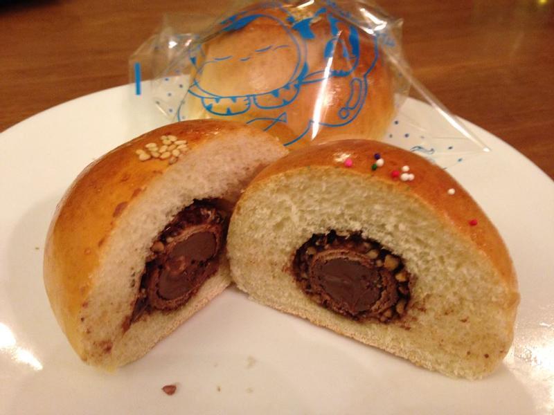 湯種法~~~金莎巧克力麵包
