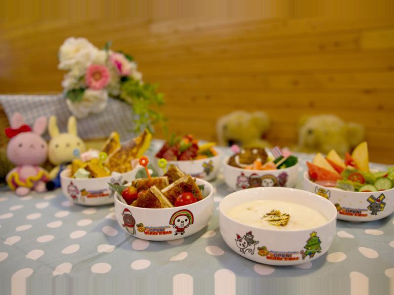 OPENX菇菇首度聯名幸福加熱陶瓷保鮮碗