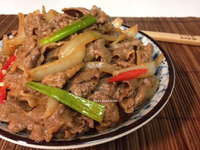 辣腐乳牛肉片