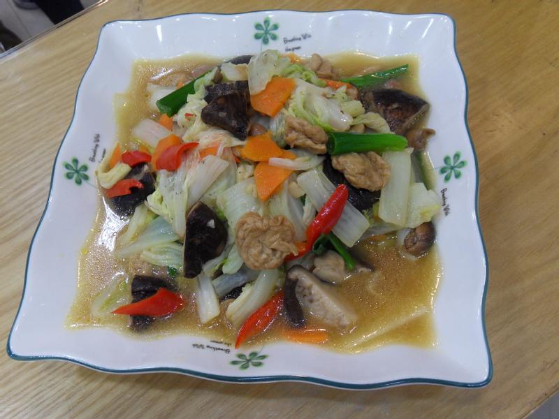 麵筋燒白菜