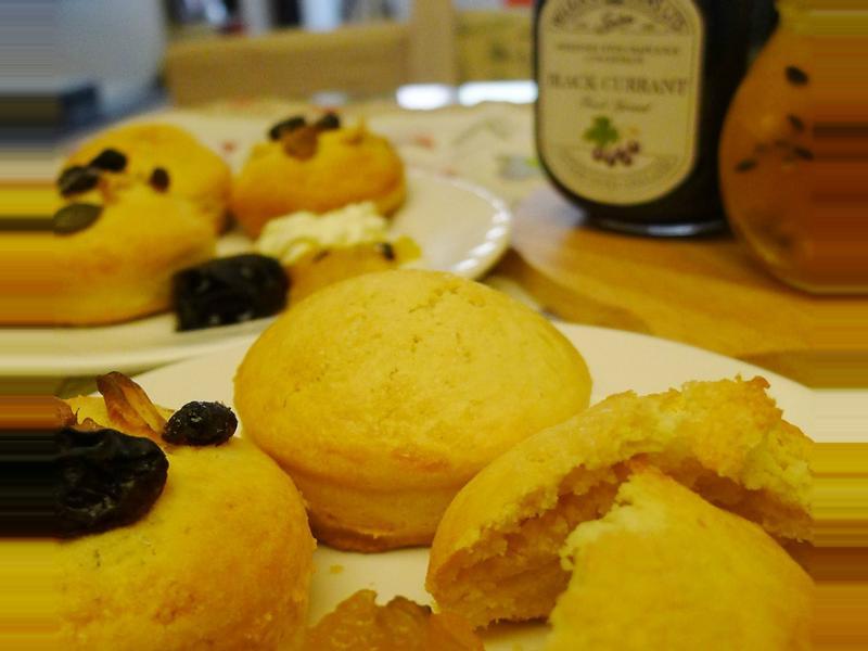 牛奶司康與什錦果麥司康-悠閒的英式午茶饗宴