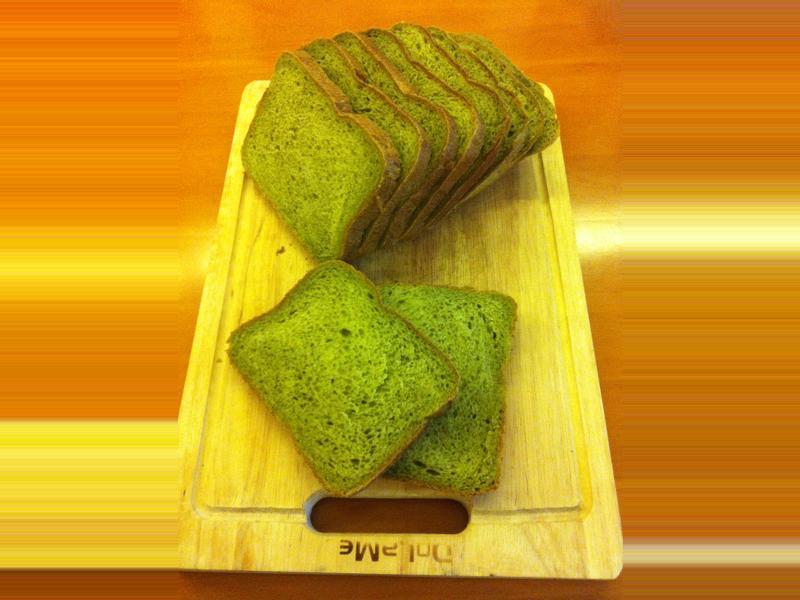 抹茶牛奶吐司【曾太之麵包機料理】