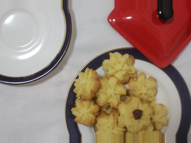 Butter cookies 牛油曲奇