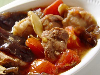【厚生廚房】黑木耳蕃茄燉肉