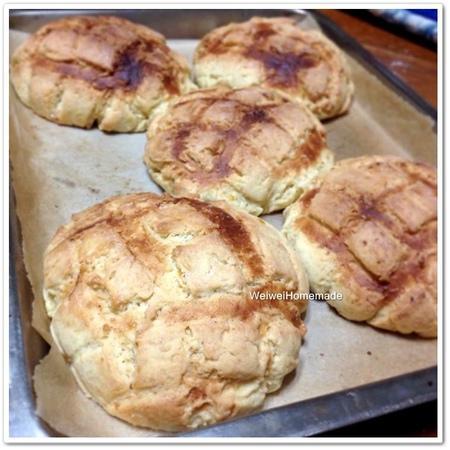 菠蘿麵包-檸檬香酥脆外皮
