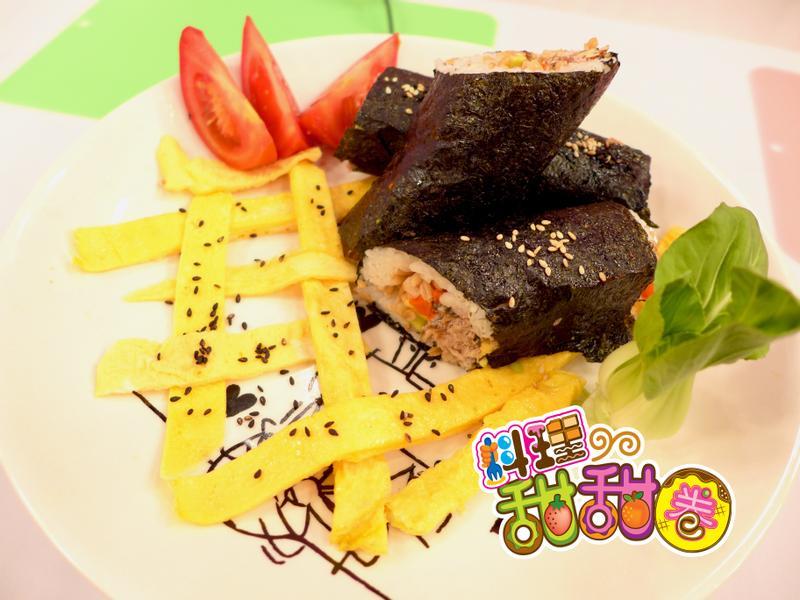 料理甜甜圈【營養滿分】聰明壽司