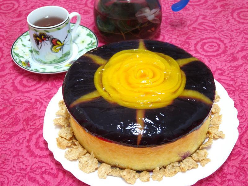 [Special K姊妹淘共享窈窕輕食]玫瑰花輕乳酪蛋糕