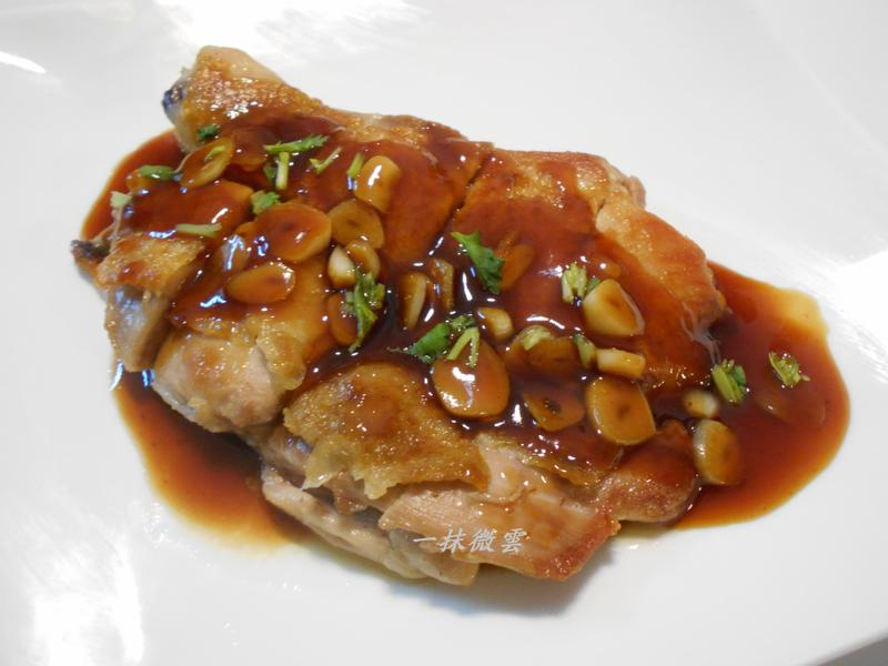 茄汁蒜片雞腿排(免油)