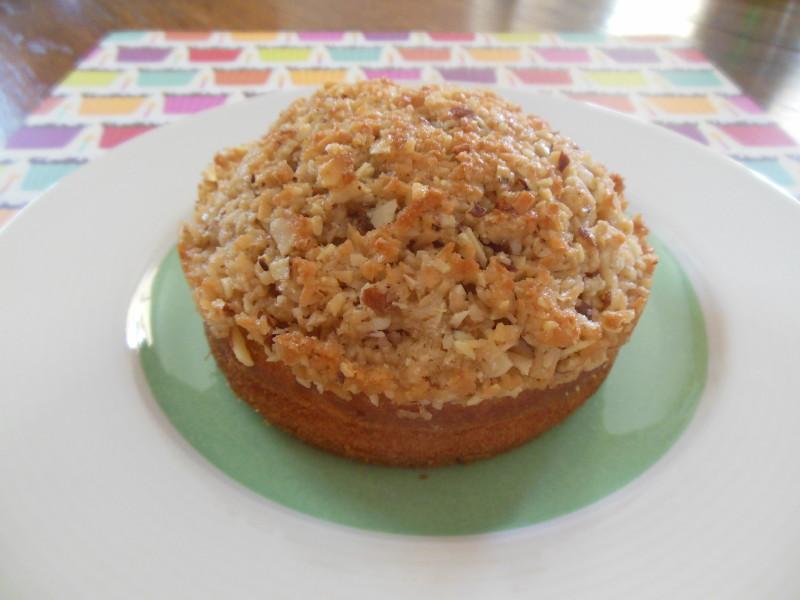 椰絲核果蛋糕