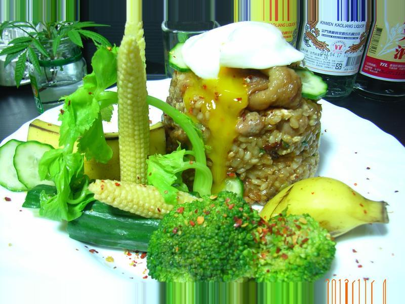 金鑲雞米飯【金門高粱飄香料理】