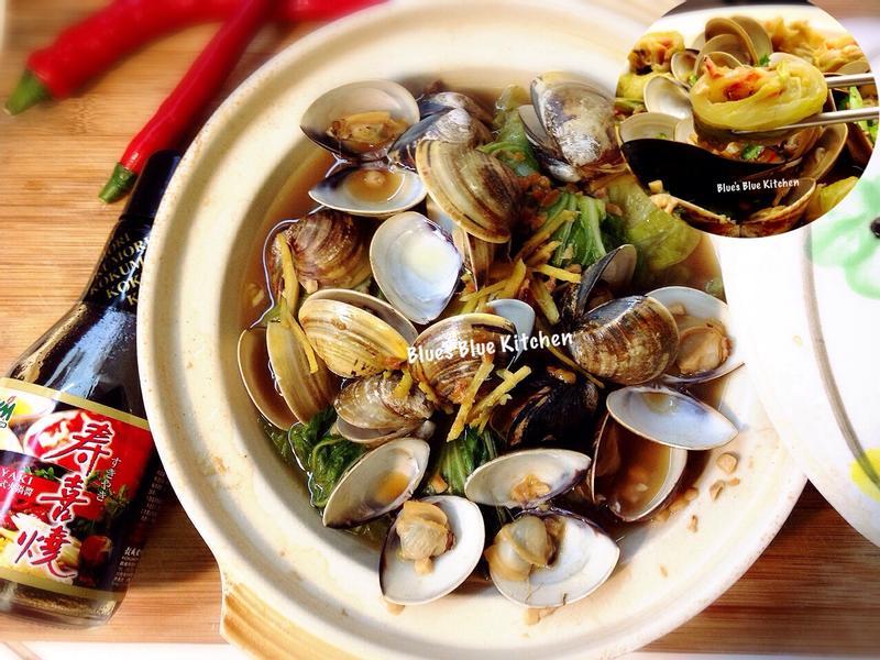 鮮味蛤蜊開運捲-穀盛壽喜燒