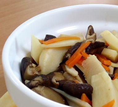 ●清淡好吃的蘿蔔香菇筍