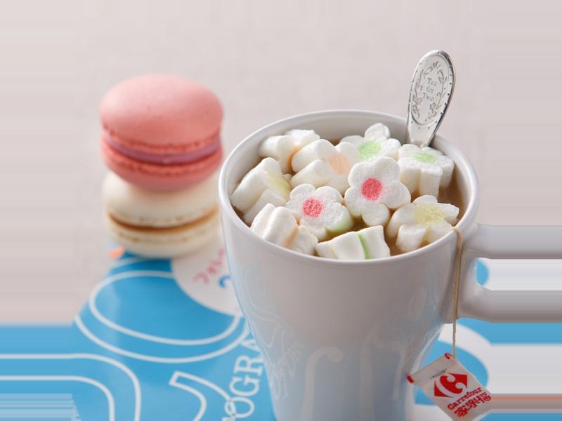 棉花糖奶茶
