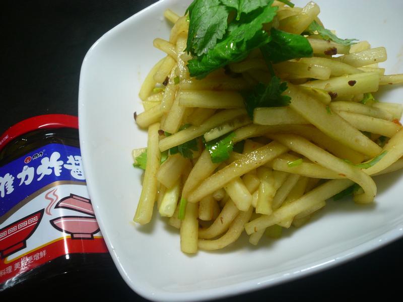 涼拌黃瓜絲『維力炸醬』