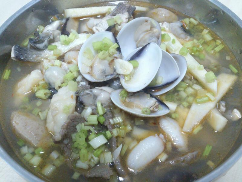 膠原蛋白海鮮粥