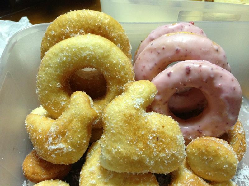 親子同樂甜甜圈..