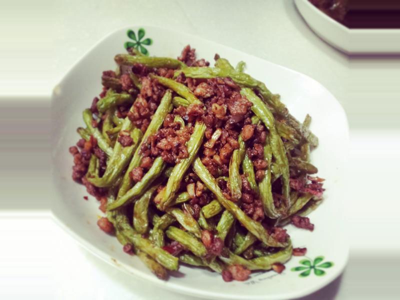 Json Kitchen~乾煸四季豆