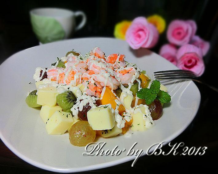 果律蝦仁豆腐【桂冠夏至涼拌】