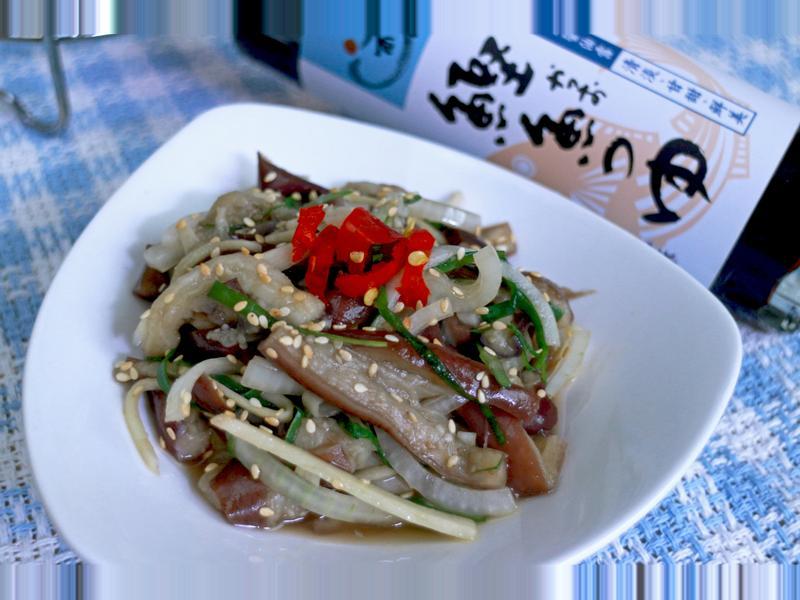 涼拌茄子『淬釀日式下午茶點』