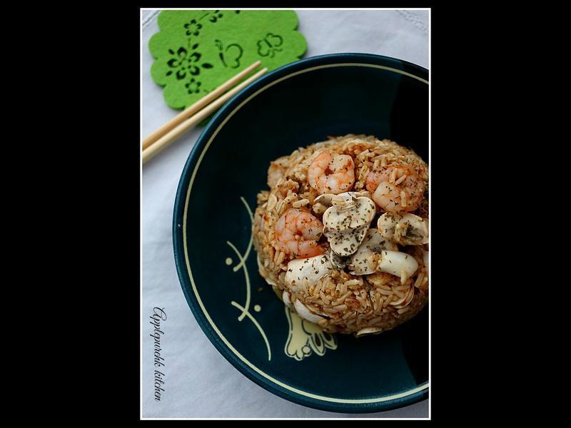 糙米燕麥飯