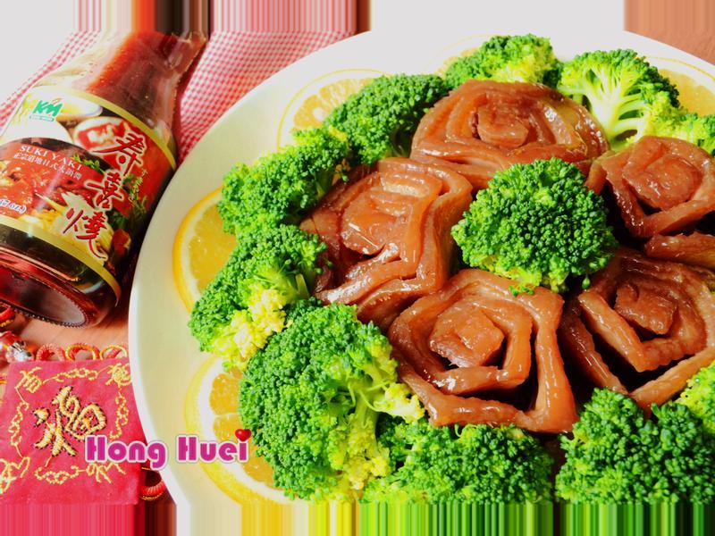 花開蜜汁玫瑰東坡肉【穀盛壽喜燒】