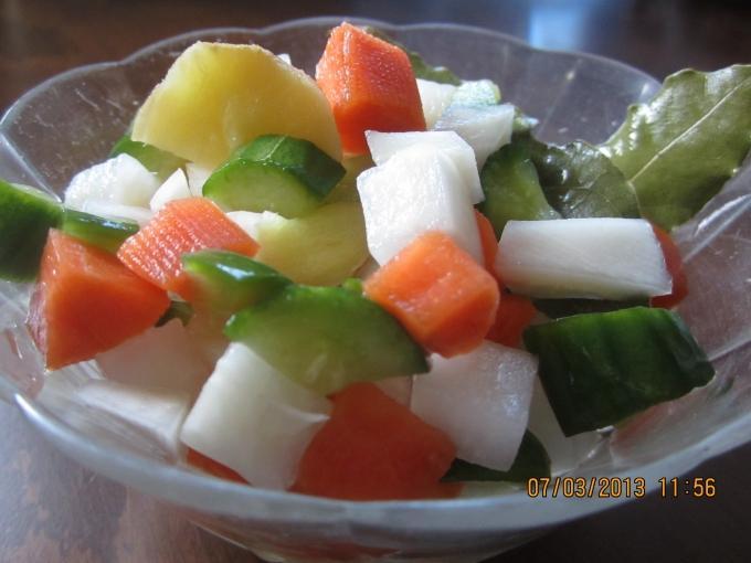 開胃小菜3---廣式泡菜