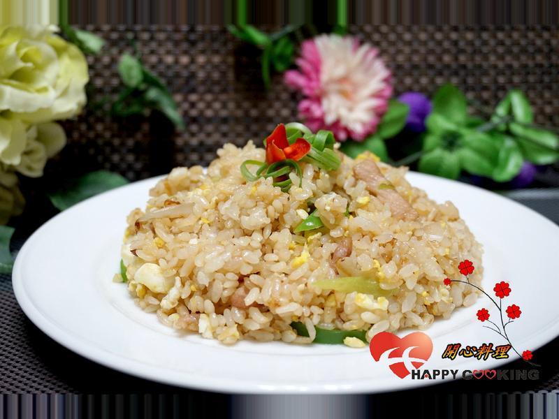 青椒肉絲蛋炒飯