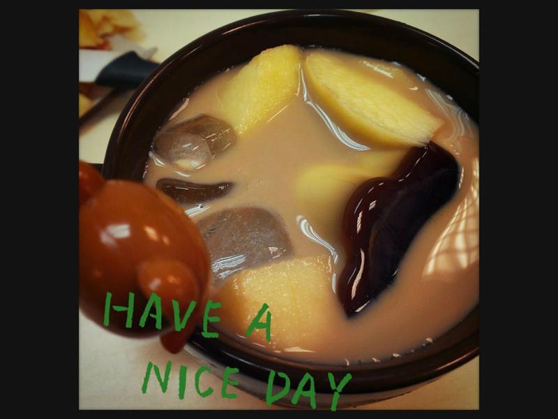 手滑也能做的蘋果布丁奶茶