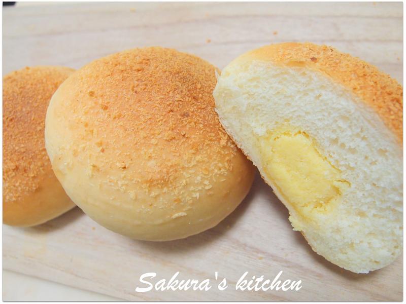 ♥我的手作料理♥ 奶酥麵包