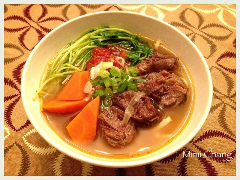 Mimi♥偽牛肉麵(豬肉麵、無牛肉)