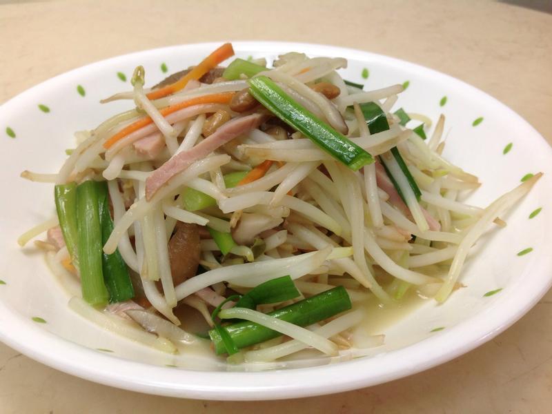 梅子豆腐乳炒銀芽