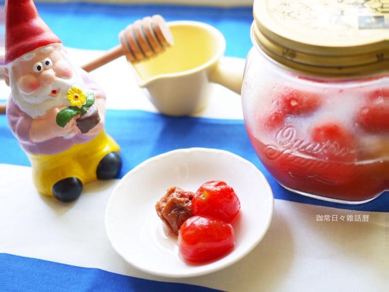 蜂蜜檸檬梅漬番茄