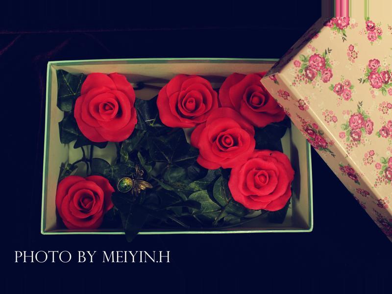 七夕情人節——巧克力玫瑰