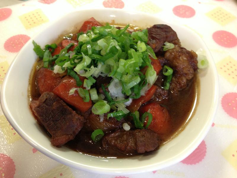 【卡特莉的龜甲萬享樂醍醐味】簡易日式燉牛肉(2人份)