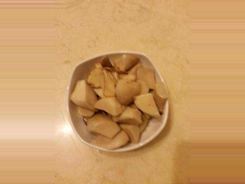麻油杏包菇