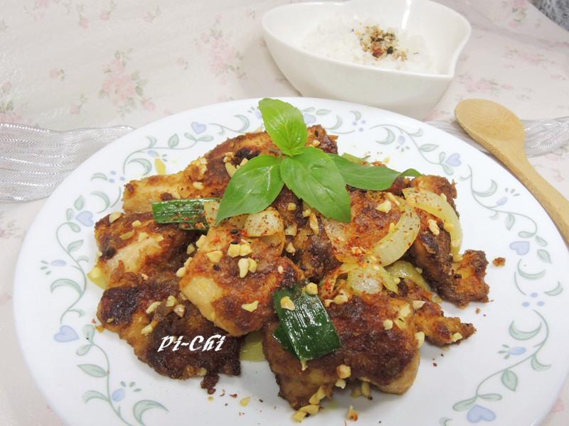 杏仁咖哩雞