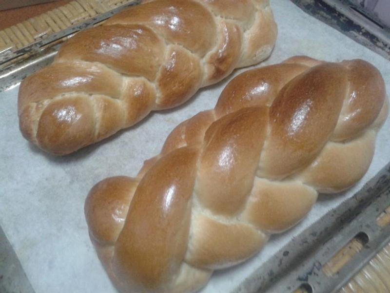 香香辮子麵包