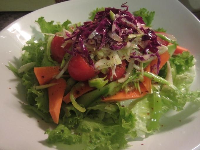 橄欖油綜合沙拉yeşil salata