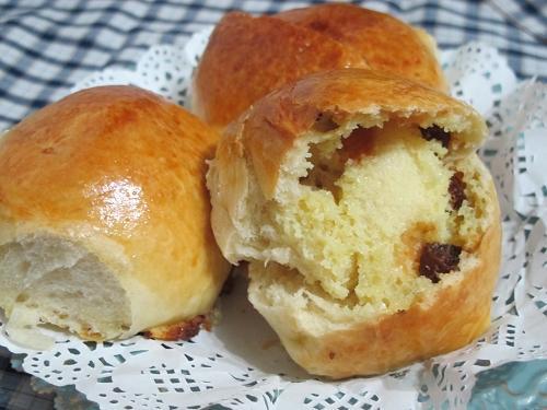葡萄乾奶酥餐包[Panasonic製麵包機]