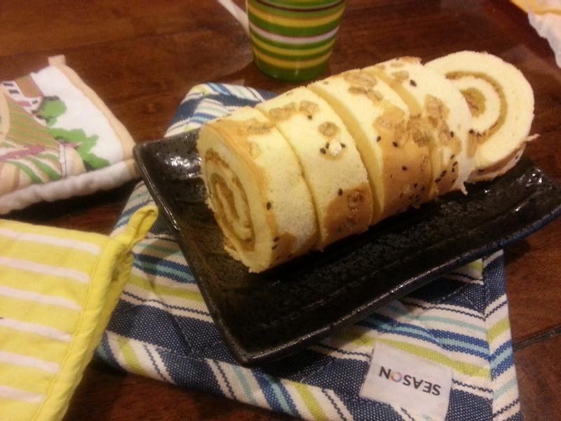 健康養生魚鬆地瓜蛋糕捲