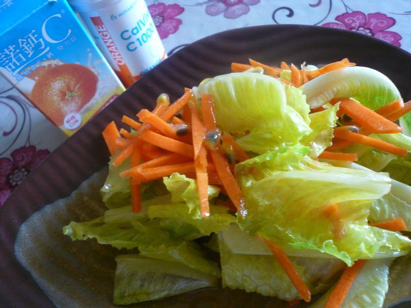 百香雙色沙拉─『諾鈣C發泡錠』