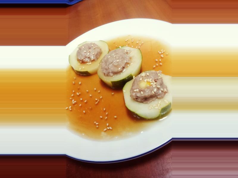 和風黃瓜鑲肉《家樂福廚神大賽》