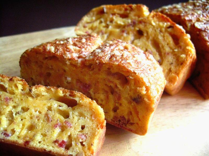 法式堅果培根起司鹹蛋糕