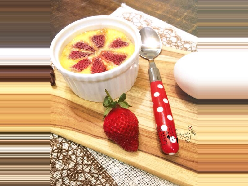 零失敗草莓烤布蕾!【烘焙展食譜募集】