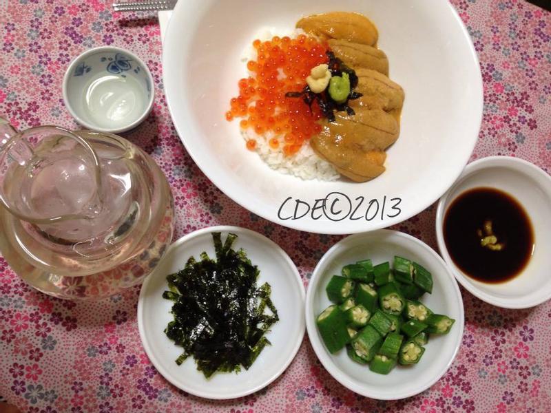 CDE 海膽三文魚子(鮪魚子)壽司飯