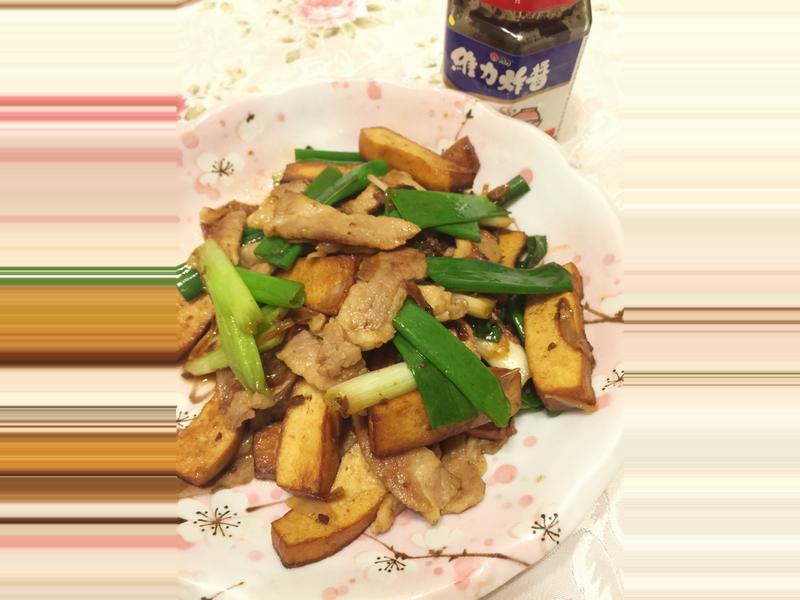 蔥燒松阪豬炒豆乾 『維力炸醬』