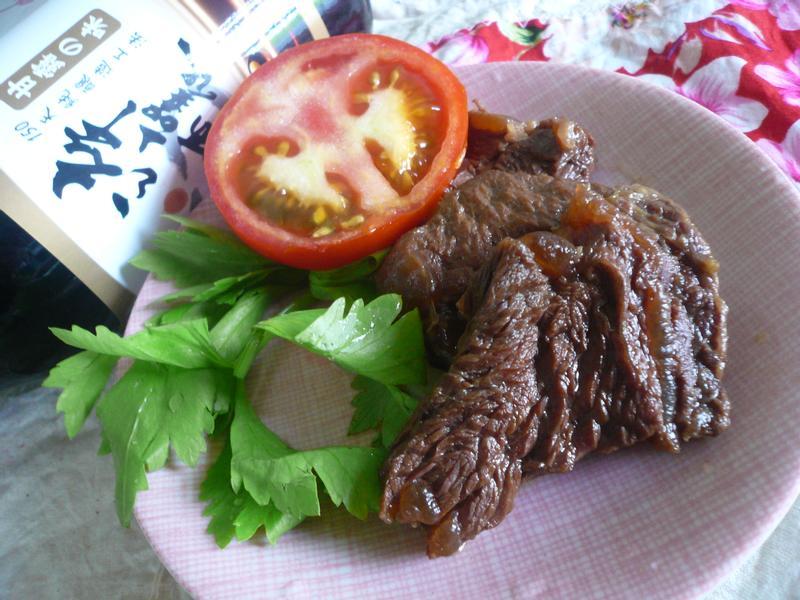 蔥燒牛肉─『淬釀中式下午茶點』