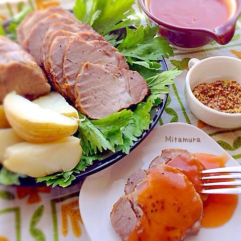大餐輕鬆做~烤塩豚