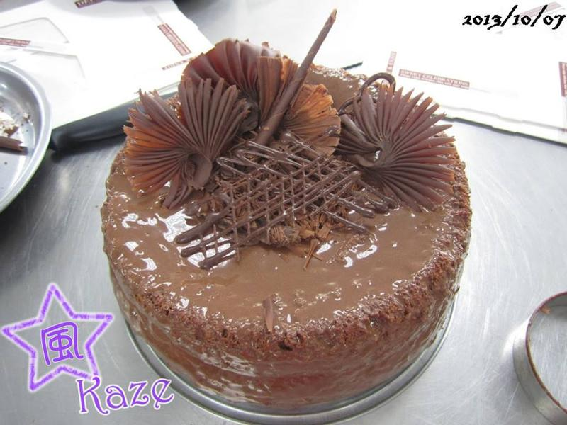 ★黑風料理★巧克力戚風蛋糕【烘焙展食譜募集】
