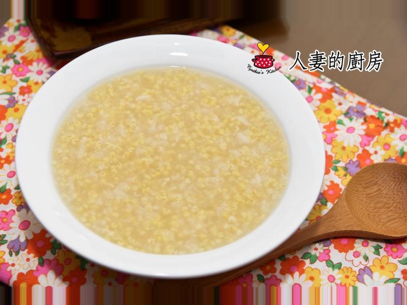 【人妻的廚房】小米粥